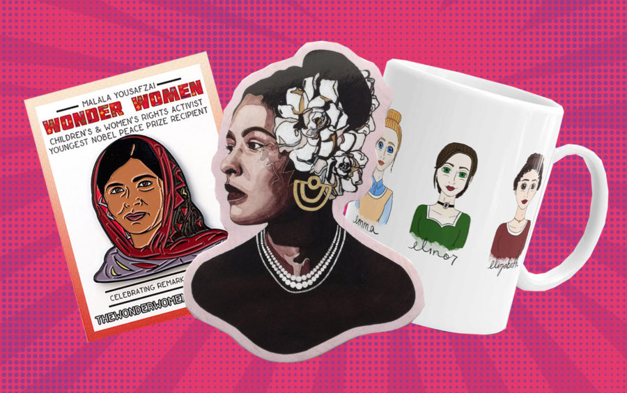 "Shop Etsy's ""Fearless Women"" collection if you want to wear your politics on your sleeve—literally"