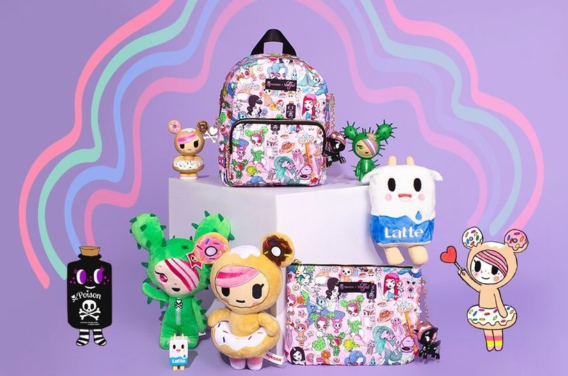 Valfré's latest collab is with 2000s fave TokiDoki, and we want it all