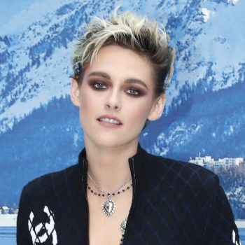 Kristen Stewart looked like a glam cat burglar in this quilted jumpsuit, and we're here for it