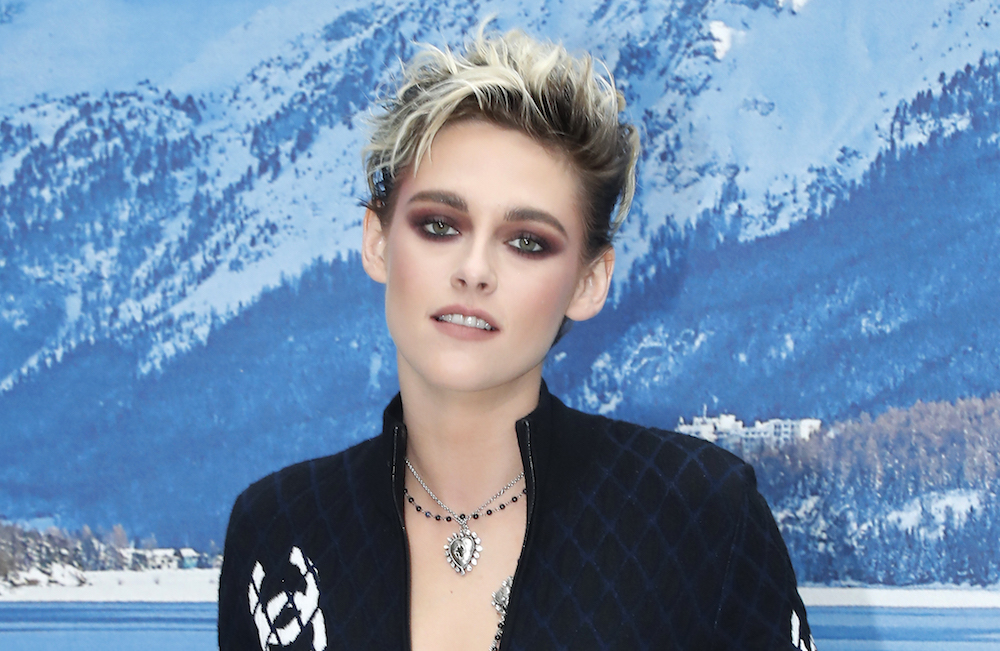 Kristen Stewart looks like a glam cat burglar in her quilted jumpsuit, and we're here for it