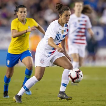 The U.S. women's soccer just team filed a lawsuit for pay equality—on International Women's Day, no less