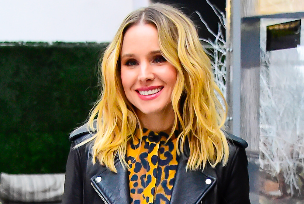 Kristen Bell's sleek bob is the trendiest haircut of 2019