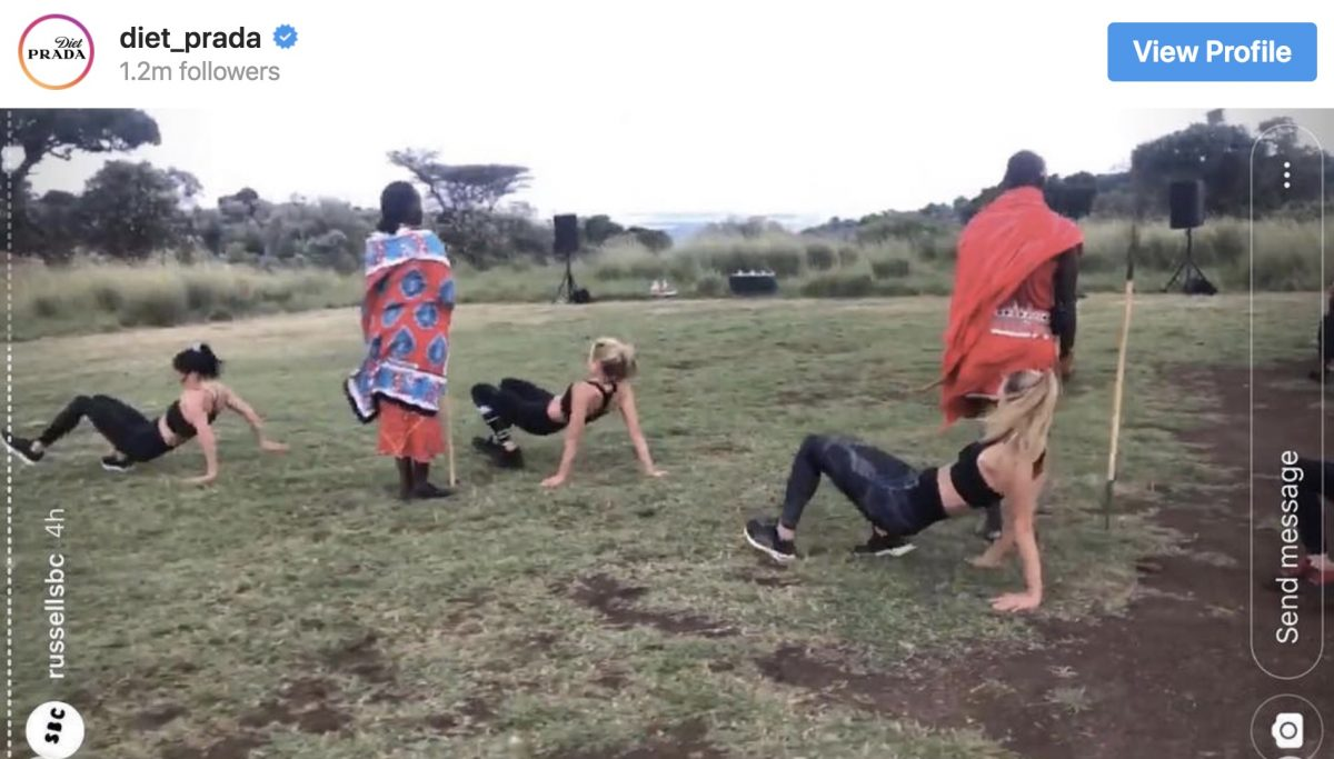"A fitness trainer used Kenyans as ""props"" during a workout retreat, and humanity needs to do better"