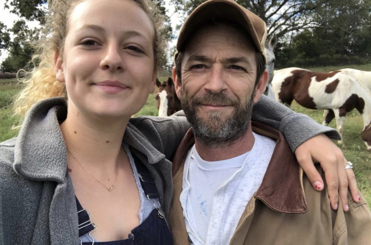 Luke Perry's daughter just addressed trolls who are criticizing her grieving process—not that she should have to