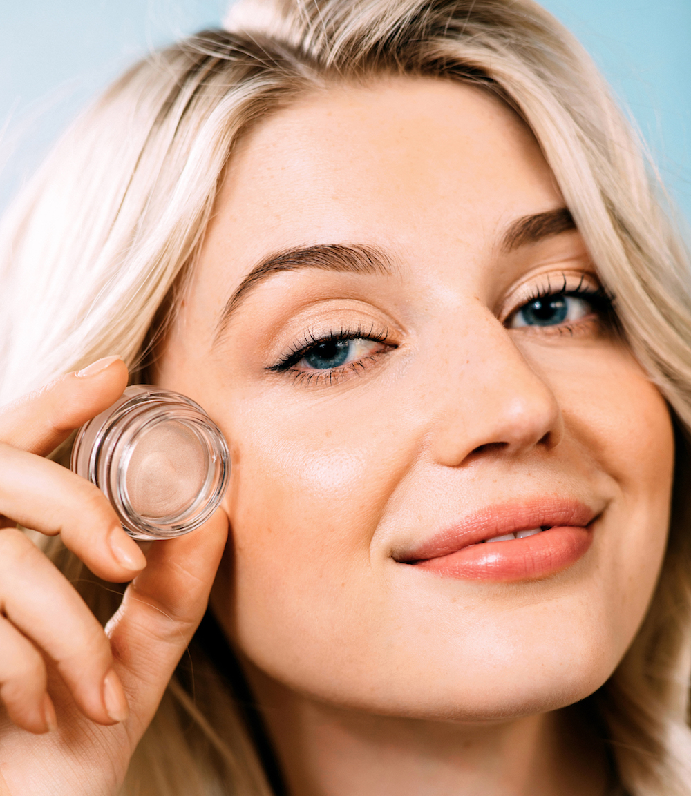 This eyeshadow has SPF 30 infused in it, because your eyes need sun protection, too