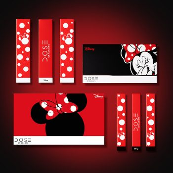 Dose of Colors' newest Disney makeup collection is made for Minnie Mouse stans
