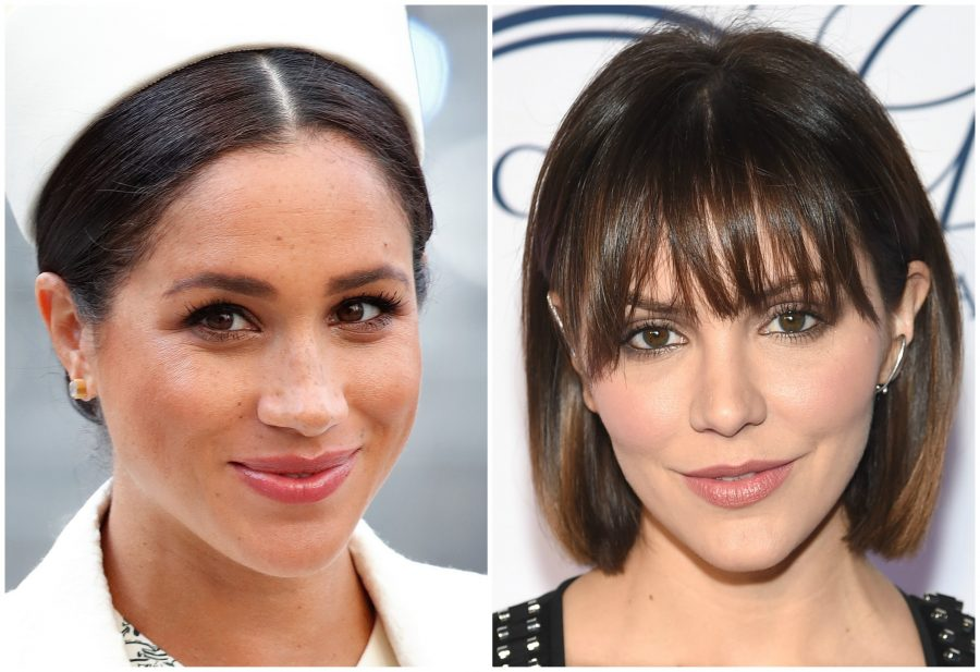 Musical theater buddies Meghan Markle and Katharine McPhee had a reunion