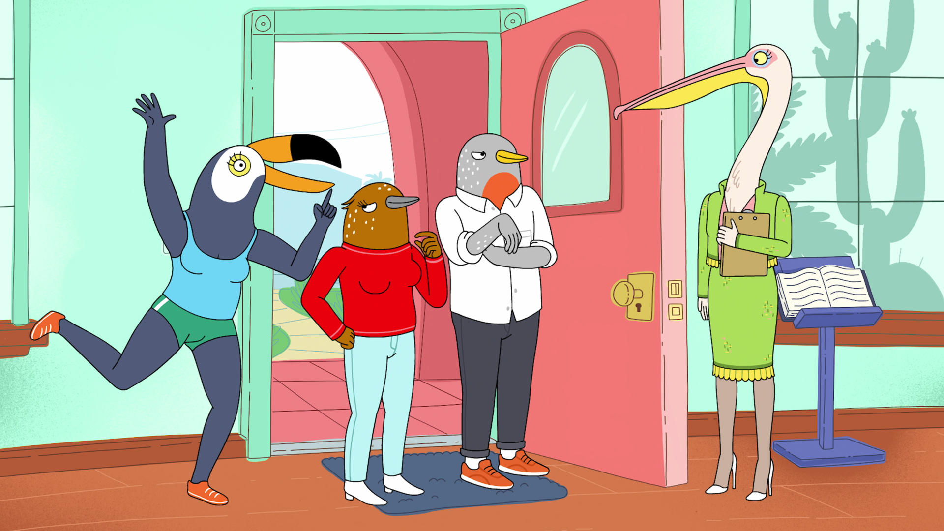 Tiffany Haddish and Ali Wong's feminist Netflix cartoon about birds will remind you of yourself and your BFF