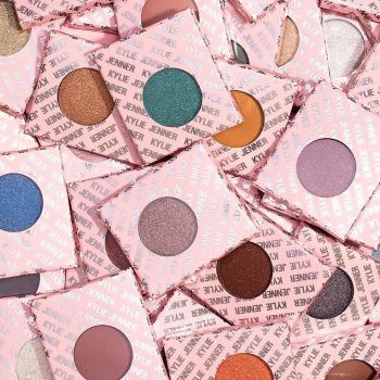 Kylie Cosmetics is launching a whopping 28 (yup!) new eyeshadow singles