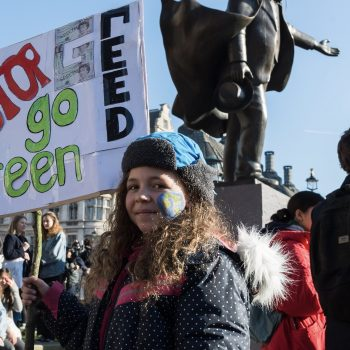The most powerful images from today's global student climate strike