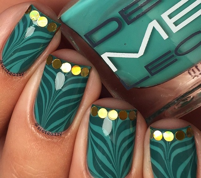 The best Instagram St. Patrick's Day nail art, to inspire you a step further from green nail polish