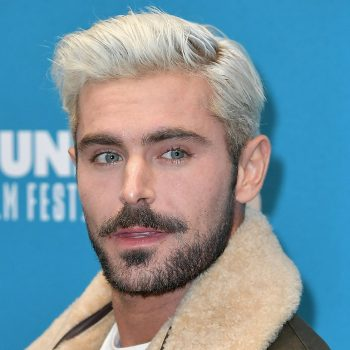 Zac Efron's latest hairstyle was inspired by a sandwich