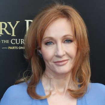 Twitter is roasting J.K. Rowling for her latest comments about Dumbledore and Grindelwald