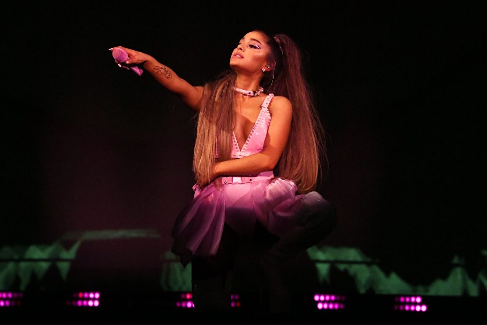 Ariana Grande kicked off her <em>Sweetener</em> tour with voter registration, and we stan a politically-minded queen