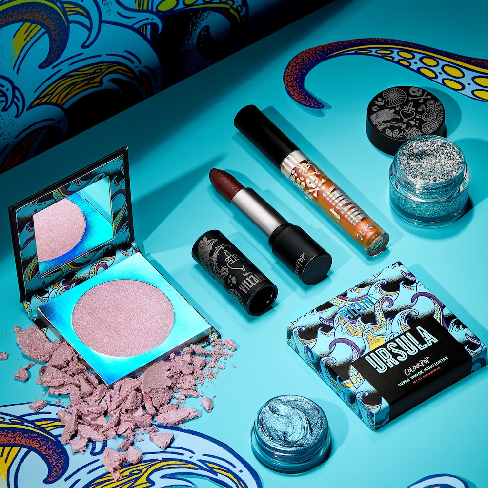 ColourPop is launching a Disney Villains collection for all of you poor, unfortunate souls