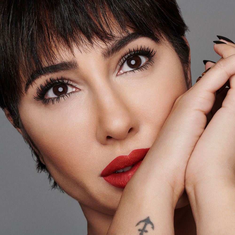 836adc2d7bf Jackie Cruz Is the Face of Kat Von D Go Big Or Go Home Mascara ...
