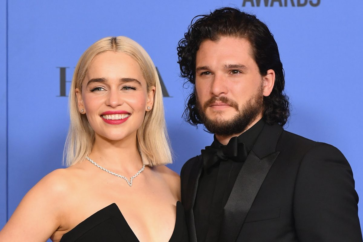 "Emilia Clarke says she and Kit Harington are totally ""in sync"" in this one specific way"