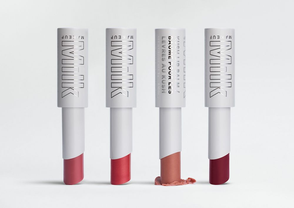 Milk Makeup's cannabis-infused Kush Lip Balm is available in four new shades