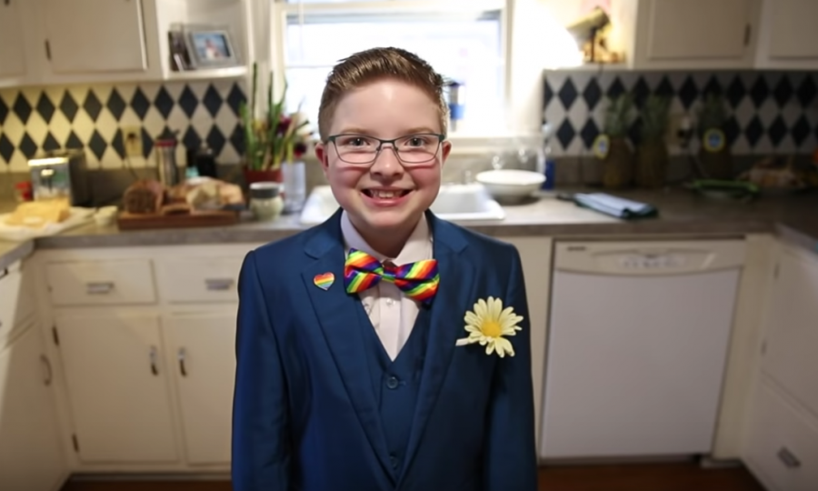 This 11-year-old kid governor wants to be the country's first lesbian president, and yes, please