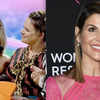 It seems like the <em>Fuller House</em> cast made a shout-out to Lori Loughlin during their Kids' Choice acceptance speech
