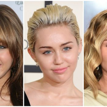 Miley Cyrus debuted a new 'do, and she looks exactly like Hannah Montana now
