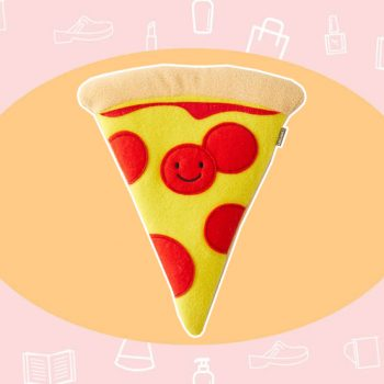 WANT/NEED: A pizza-shaped heating pad for period cramps, and more stuff you want to buy
