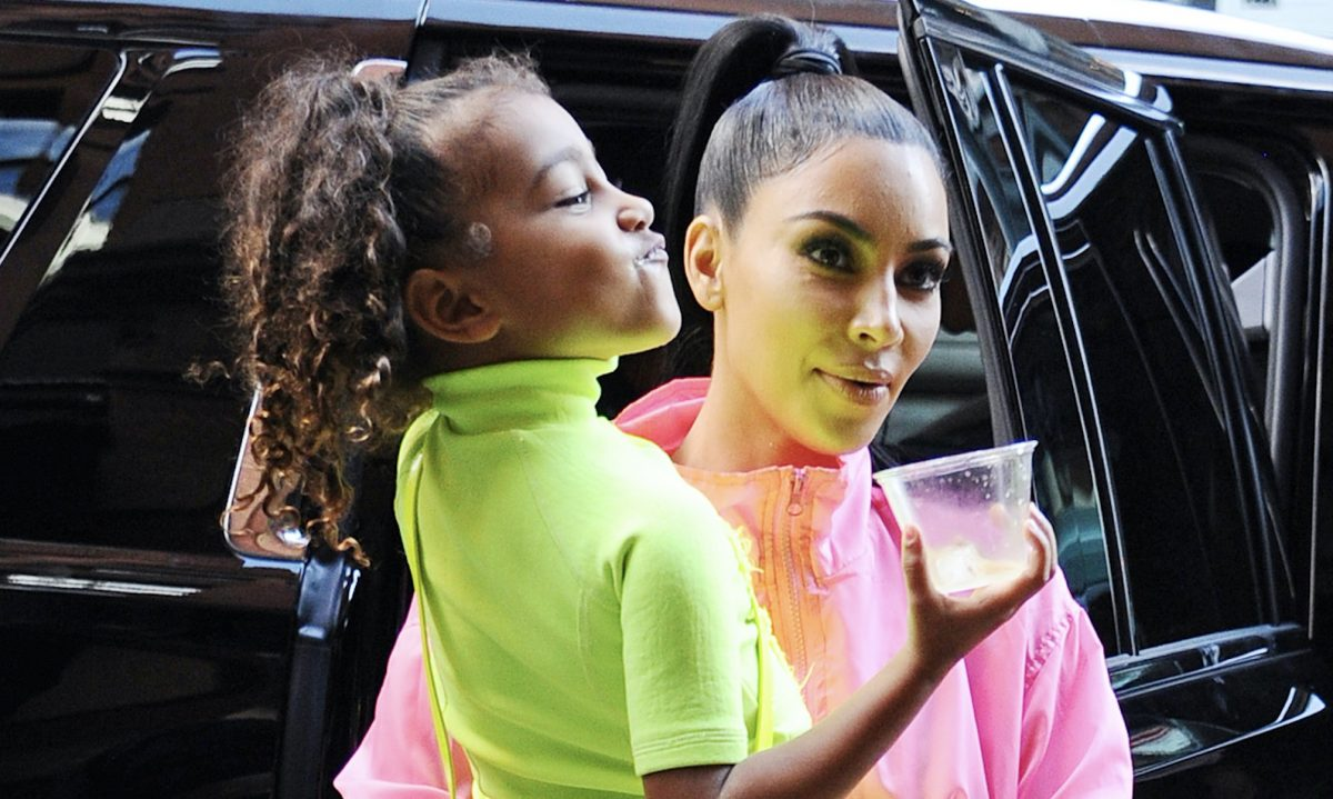 Kim Kardashian had the most epic response when North West asked her why she's famous