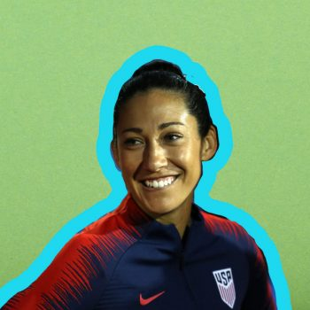 U.S. women's soccer player Christen Press wants you to fight for what you're owed, just like she and her teammates are doing
