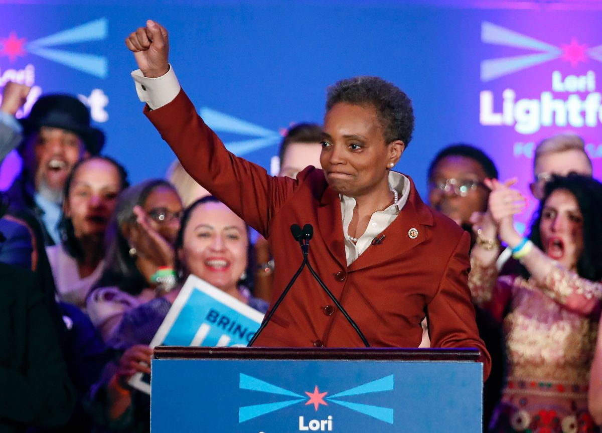 Lori Lightfoot just became the first openly gay <em>and</em> black female mayor of Chicago