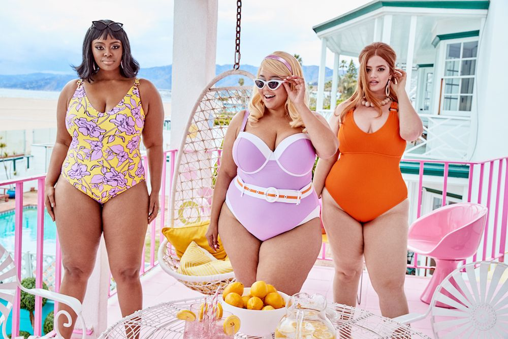 GabiFresh and Swimsuits For All's summer collection is giving us retro Barbie vibes
