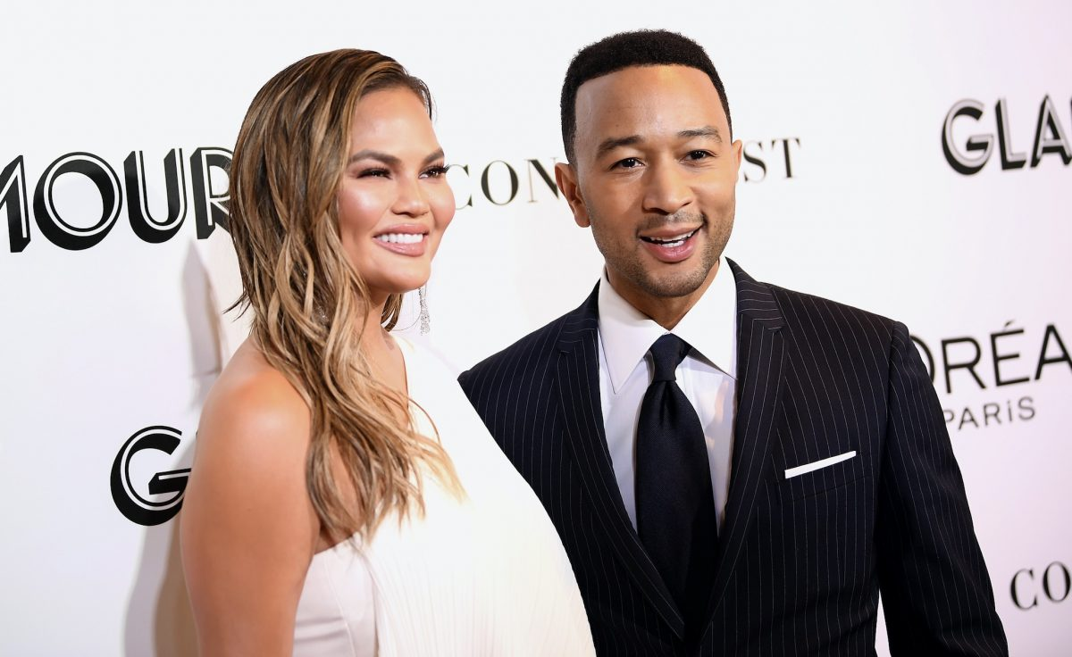 Chrissy Teigen and John Legend just debuted twinning tattoos, and Teigen shared the funniest post about it (of course)