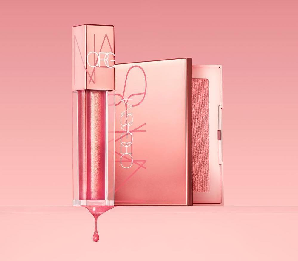 Nars created a whole makeup collection inspired by the iconic Orgasm blush