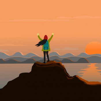 What backpacking solo for three months taught me about embracing fear