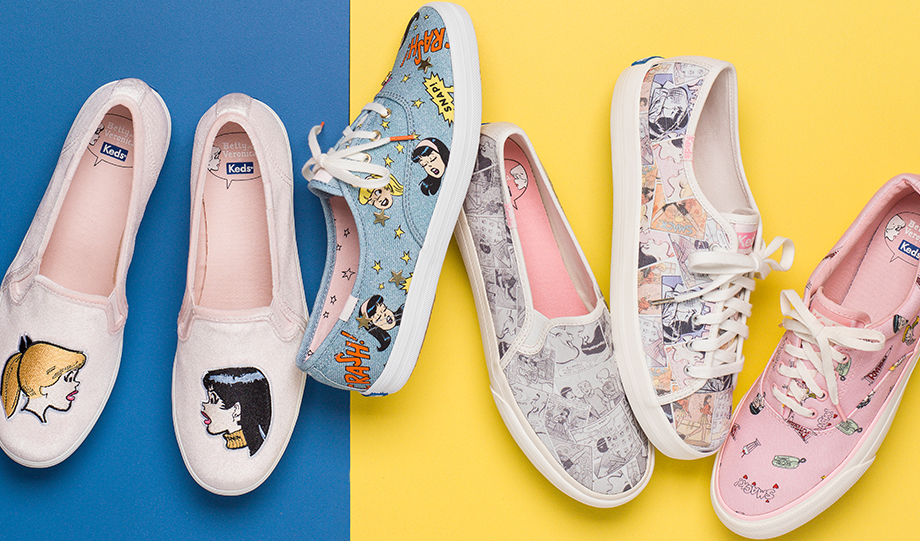Keds released a line of Betty and Veronica sneakers that are perfect for summer