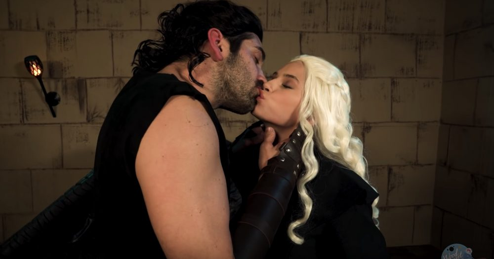 The internet is obsessed with this <em>Game of Thrones</em> porn parody trailer, and you will be, too