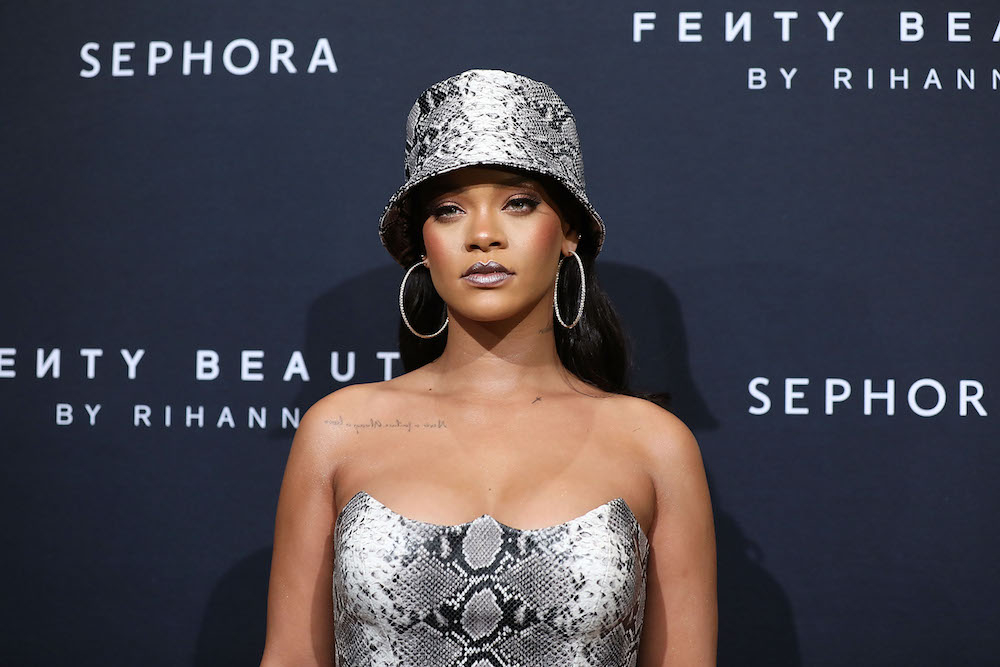 It looks like Rihanna is launching Fenty skin care, which means our prayers have been answered