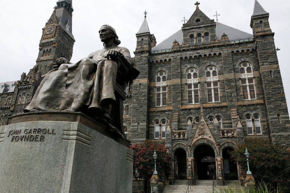 Georgetown University students just voted for a creative way to atone for their school's history of slavery