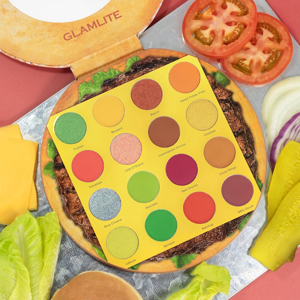 The brand that made the viral pizza eyeshadow palette now has a burger-themed one