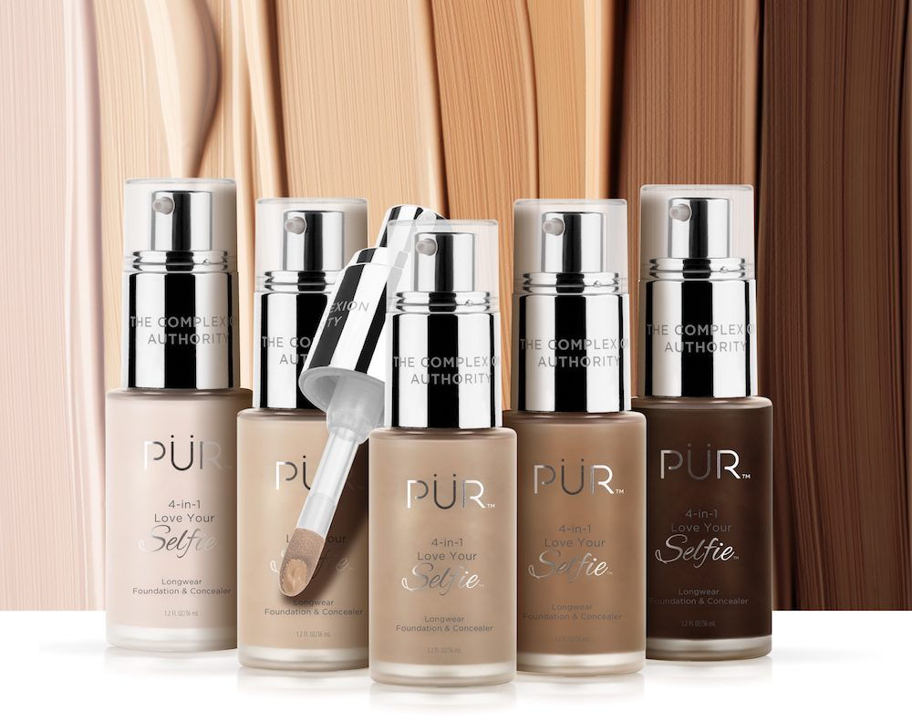 This new foundation line comes in a staggering 100 shades