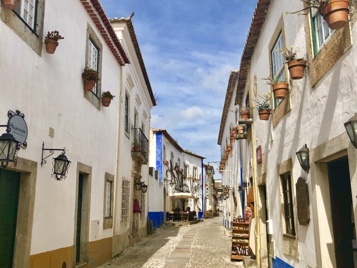 Obidos village in Portugal