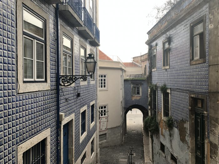 Alfama in Portugal