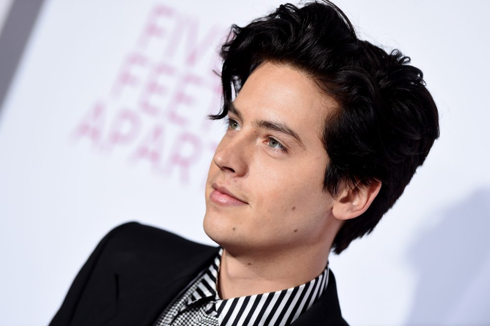 Cole Sprouse just debuted way lighter hair, and it's so un-Jughead