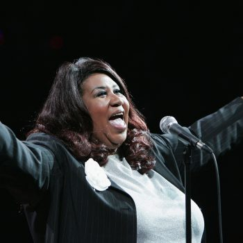 Aretha Franklin just became the first woman ever to win this award, and it's about freaking time