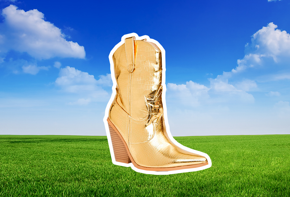 "Cute cowboy boots to buy if you can't stop listening to ""Old Town Road"""