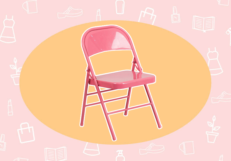 WANT/NEED: Bubblegum pink folding chairs, and more stuff you want to buy