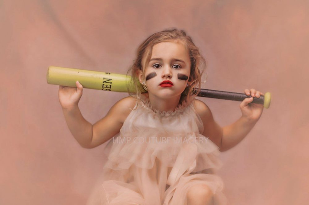 "This photographer did a ""tough princess"" photo shoot to show girls they don't have to choose between strong and feminine"