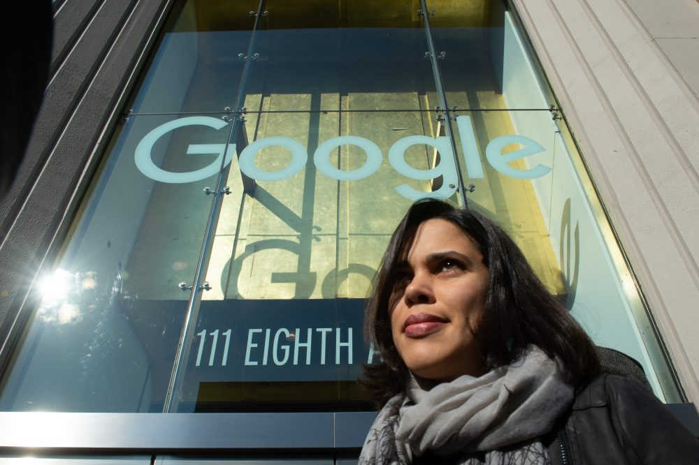 The female Google employees who staged the sexual misconduct protest say they're now being punished by their bosses