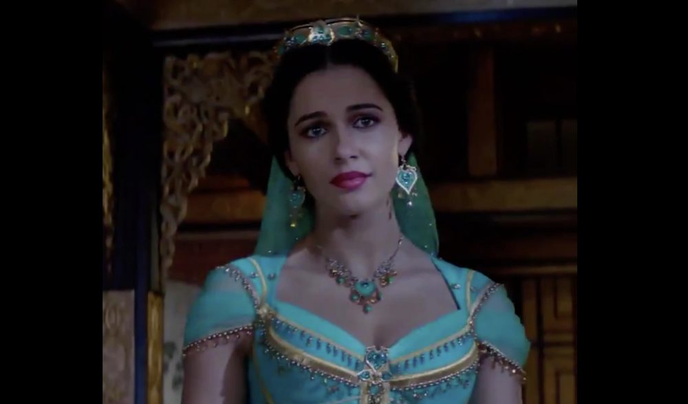 A new teaser for the live-action <em>Aladdin</em> is here, and we're obsessed with each and every one of Jasmine's outfits