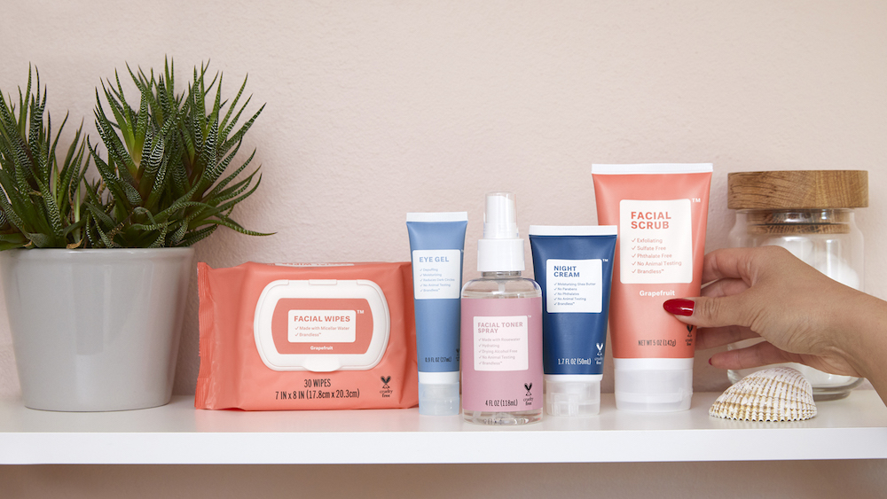 Brandless launched a collection of clean beauty products—and everything is under $8
