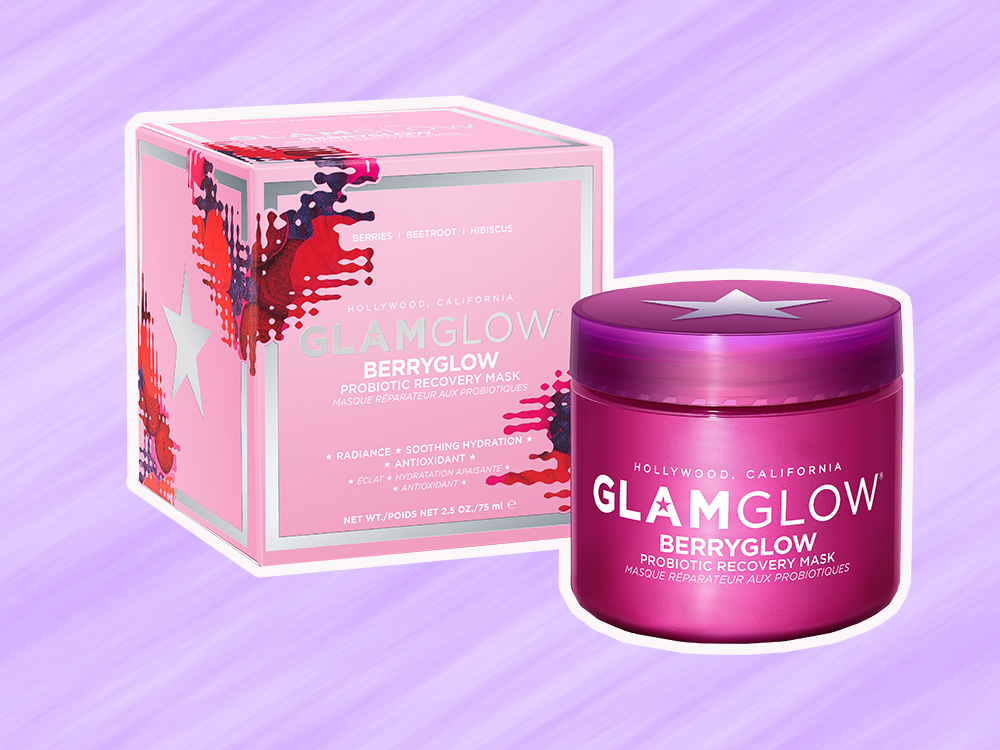 GlamGlow launched a probiotic mask that's like a superfood smoothie for your skin